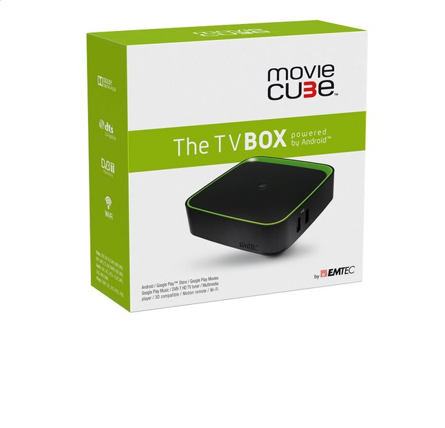Afbeelding van Emtec The TV Box Movie Cube from ColliShop