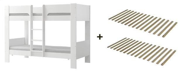 Image pour Flexa lits superposés avec sommiers à lattes à partir de ColliShop