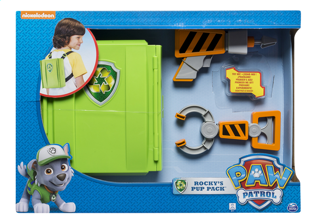 Afbeelding van Speelset PAW Patrol Rocky's Pup Pack from ColliShop
