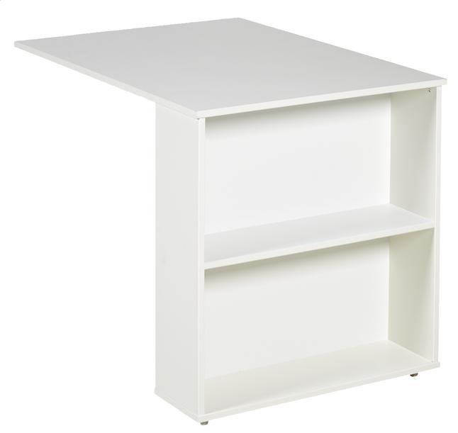 Image pour Bureau escamotable Pino blanc à partir de ColliShop