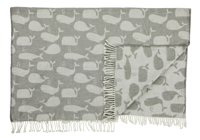 Afbeelding van Covers & Co Plaid Wally grey grijs/lichtgrijs acryl B 130 x L 170 cm from ColliShop