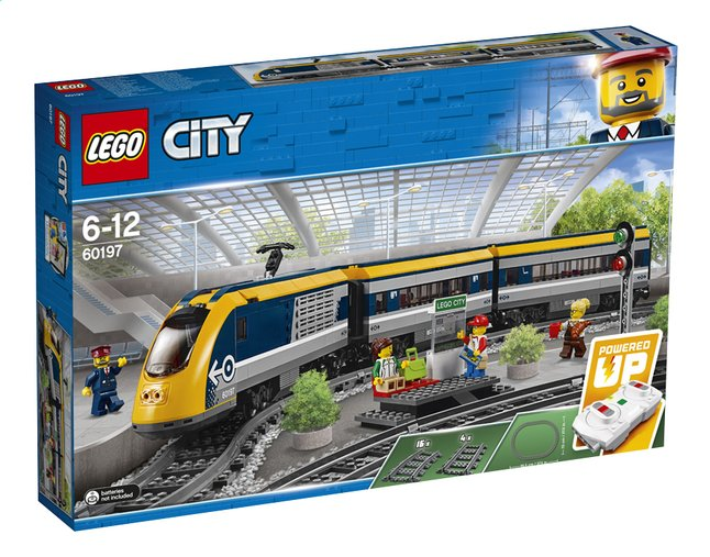 Afbeelding van LEGO City 60197 Passagierstrein from ColliShop