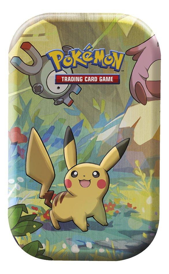 Image pour Pokémon JCC Trading Cards boîte Kanto Friends Empty Mini Tin - Pikachu à partir de ColliShop