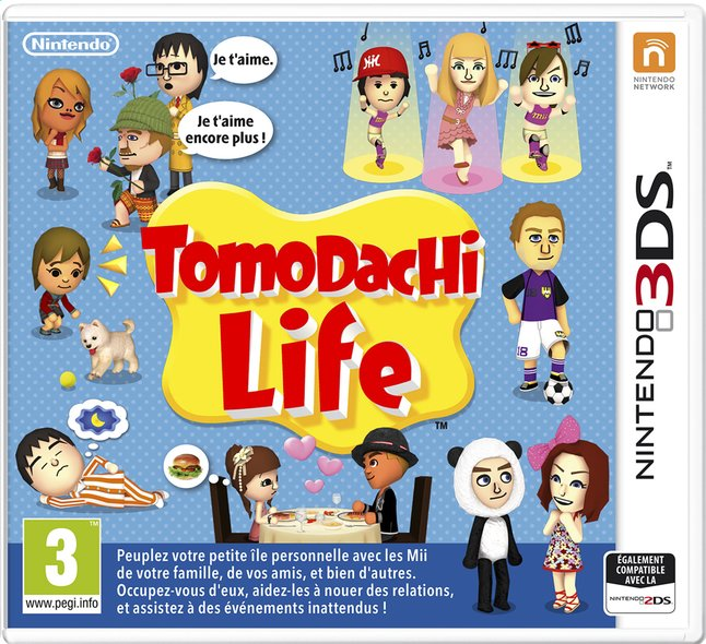 Afbeelding van Nintendo 3DS Tomodachi Life FR from ColliShop