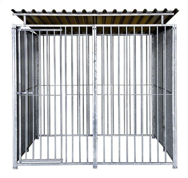 nesa grande cage pour chien avec toit classic collishop. Black Bedroom Furniture Sets. Home Design Ideas