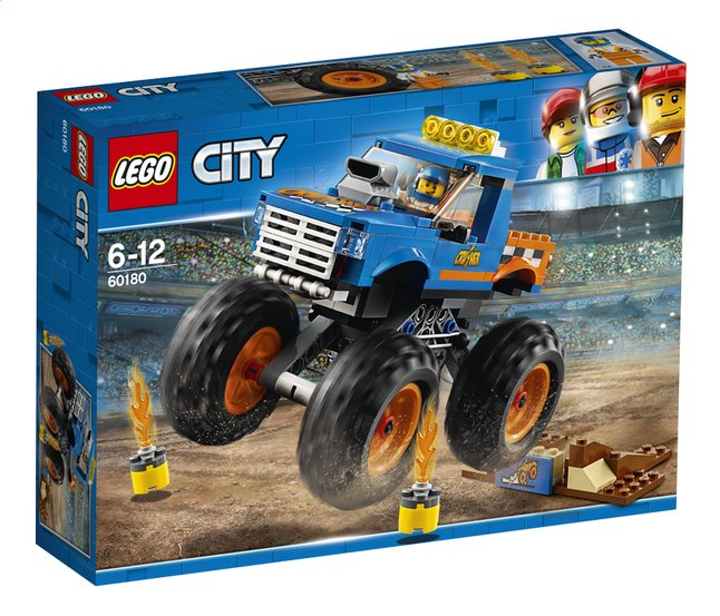Image pour LEGO City 60180 Le Monster Truck à partir de ColliShop
