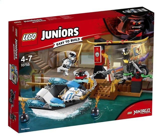 Afbeelding van LEGO Juniors 10755 Zane's ninjabootachtervolging from ColliShop