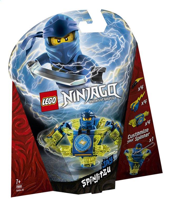 LEGO Ninjago 70660 Toupie Spinjitzu Jay