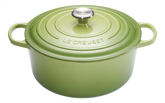 Afbeelding van Le Creuset Ronde stoofpan Signature palm 28 cm - 6.7 l from ColliShop