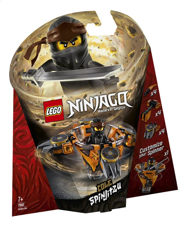 Afbeelding van LEGO Ninjago 70662 Spinjitzu Cole from ColliShop