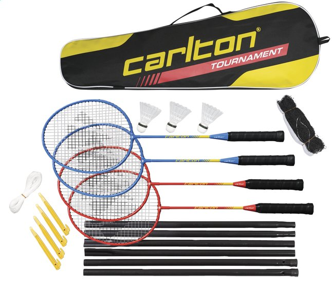 Afbeelding van Dunlop badmintonset Carlton Tournament from ColliShop