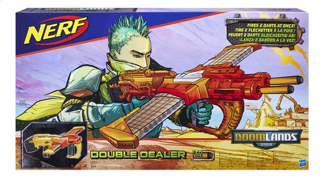 Afbeelding van Nerf blaster Doomlands 2169 Double Dealer from ColliShop