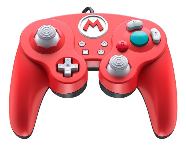 Afbeelding van Nintendo Switch Controller Smash Pad Mario rood from ColliShop
