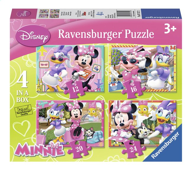 Afbeelding van Ravensburger meegroeipuzzel 4-in-1 Minnie Mouse from ColliShop