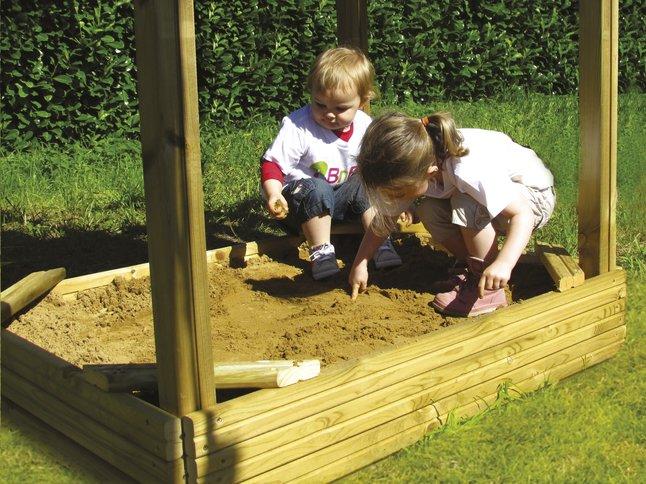Afbeelding van BnB Wood zandbak voor Nieuwpoort from ColliShop
