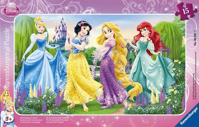 Image pour Ravensburger puzzle La promenade des princesses à partir de ColliShop