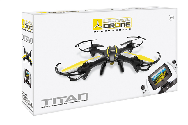 Afbeelding van Mondo drone Titan Black Series from ColliShop