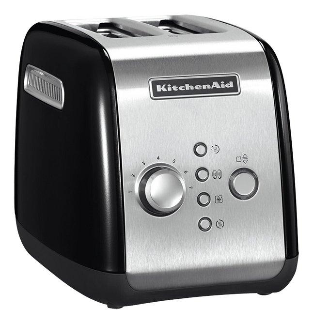 KitchenAid Broodrooster 5KMT221EOB zwart/zilver