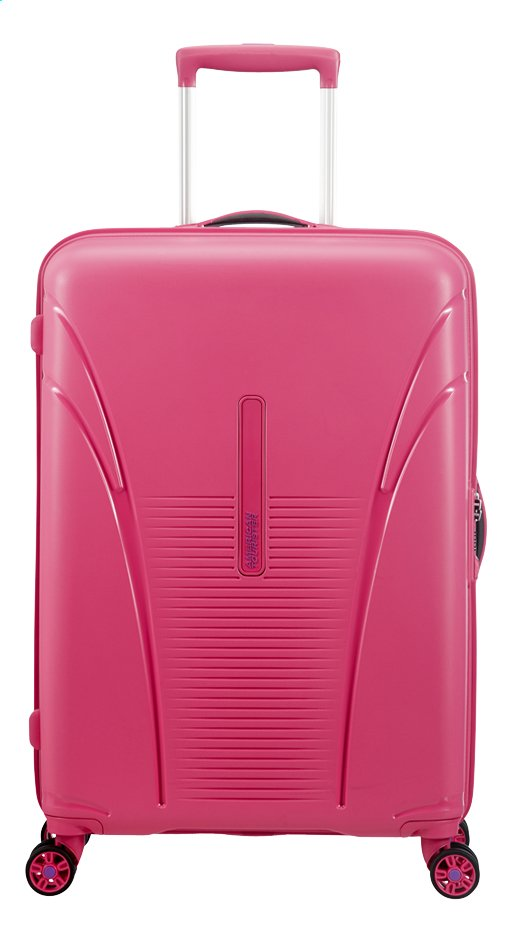 Afbeelding van American Tourister Harde reistrolley Skytracer Lightning Pink 68 cm from ColliShop