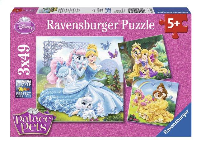 Image pour Ravensburger puzzle 3 en 1 Disney Princess Belle, Cendrillon et Raiponce à partir de ColliShop