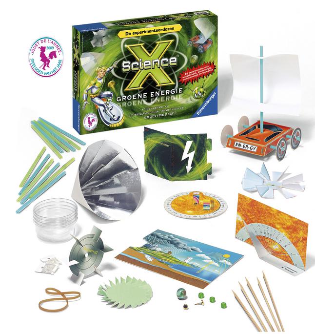 Image pour Ravensburger Science X: Groene energie NL à partir de ColliShop