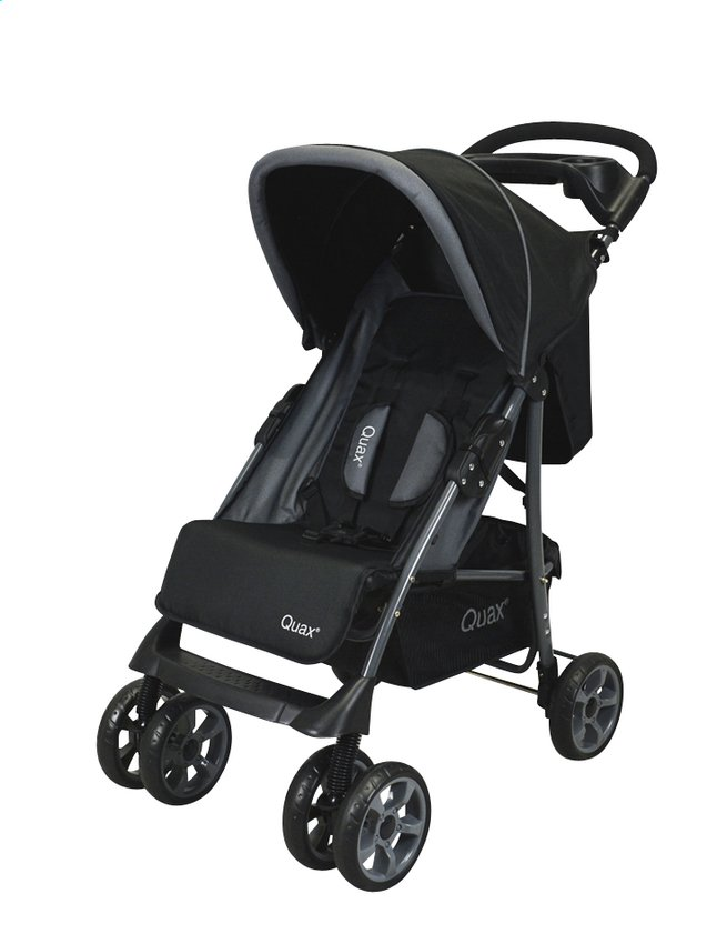 Afbeelding van Quax Buggy Shopper Travelsystem zwart from ColliShop