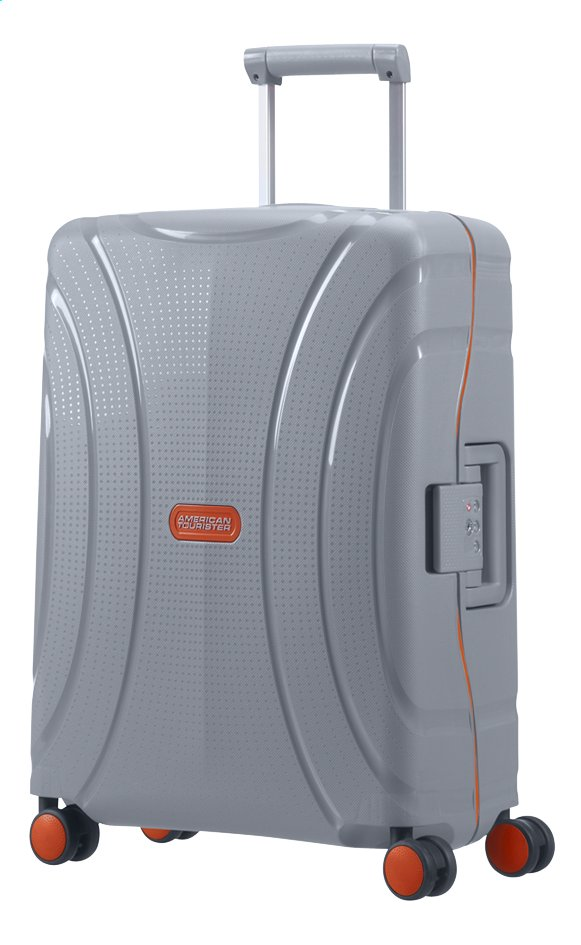 Afbeelding van American Tourister Harde reistrolley Lock'N'Roll Spinner volt grey 55 cm from ColliShop