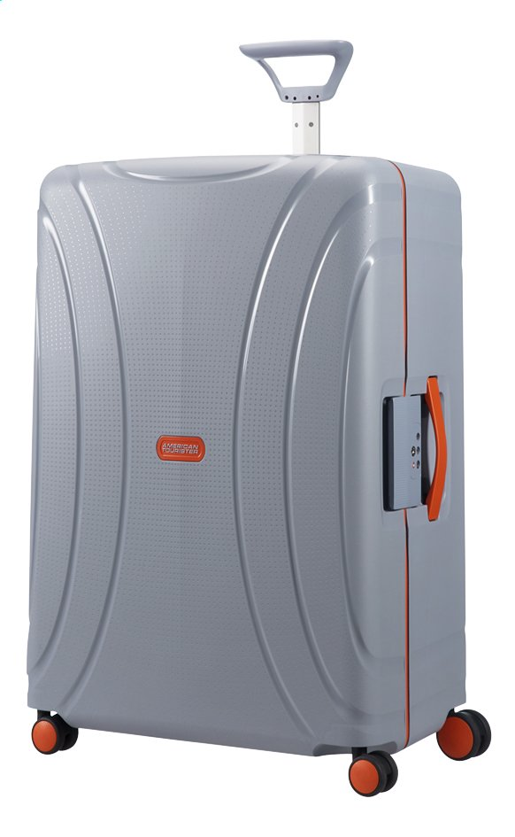 Afbeelding van American Tourister Harde reistrolley Lock'N'Roll Spinner volt grey 75 cm from ColliShop