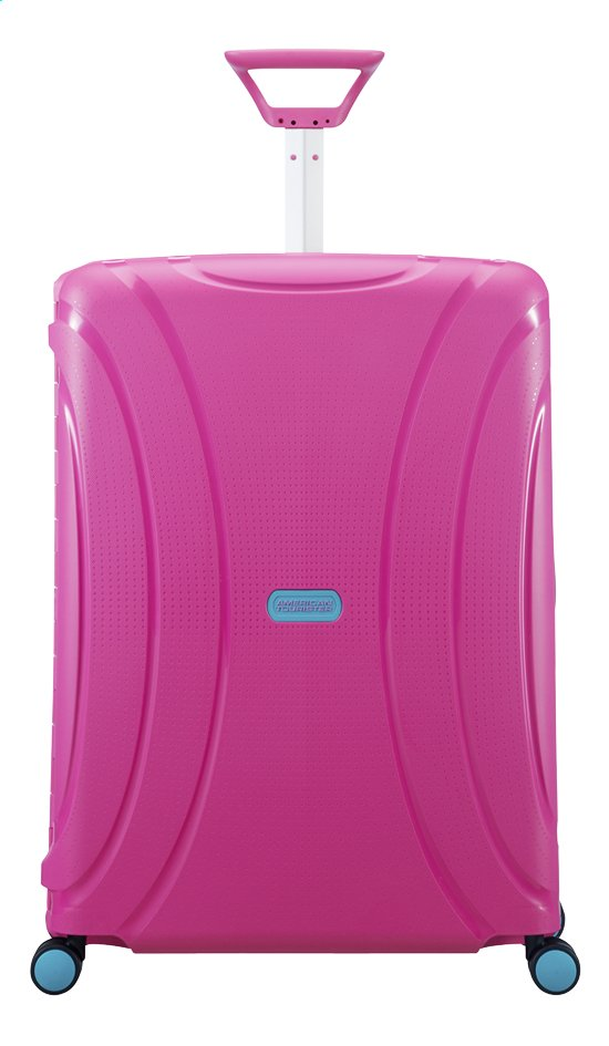 Afbeelding van American Tourister Harde reistrolley Lock'N'Roll Spinner summer pink 69 cm from ColliShop