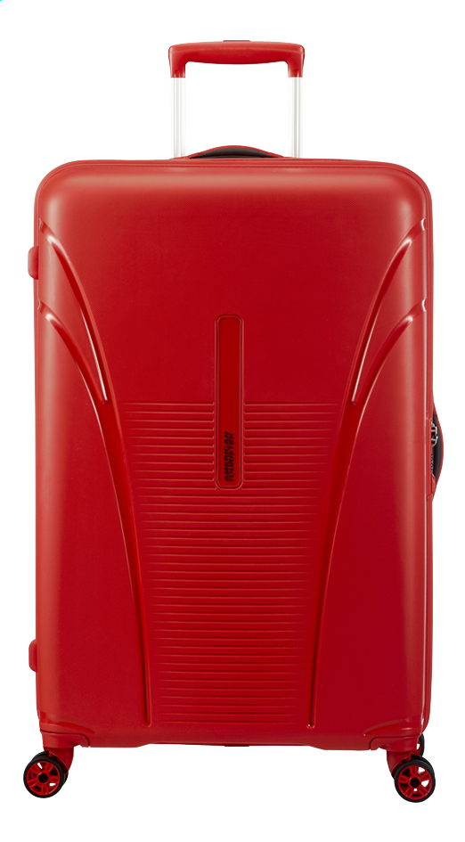 Afbeelding van American Tourister Harde reistrolley Skytracer Spinner Formula Red 77,5 cm from ColliShop