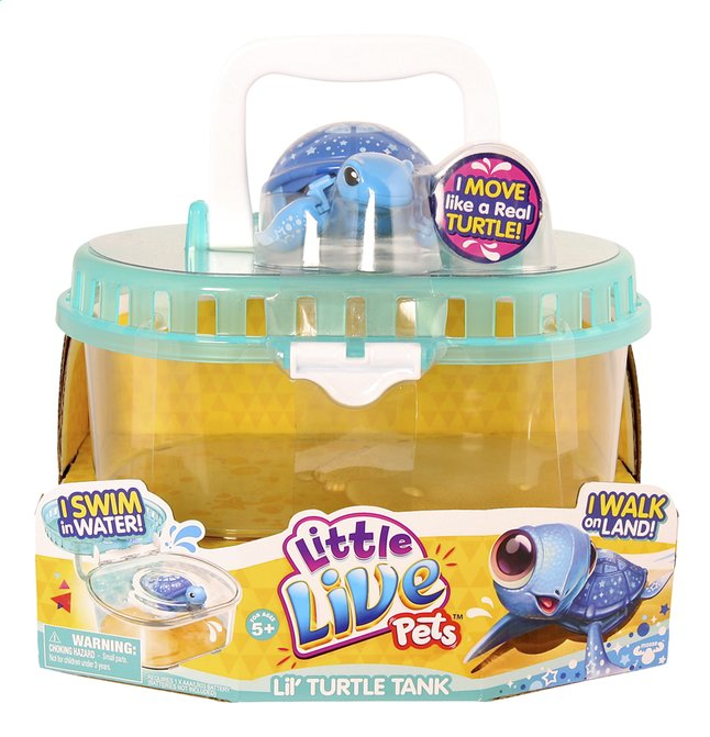 Afbeelding van Little Live Pets speelset Lil' Turtle Tank from ColliShop