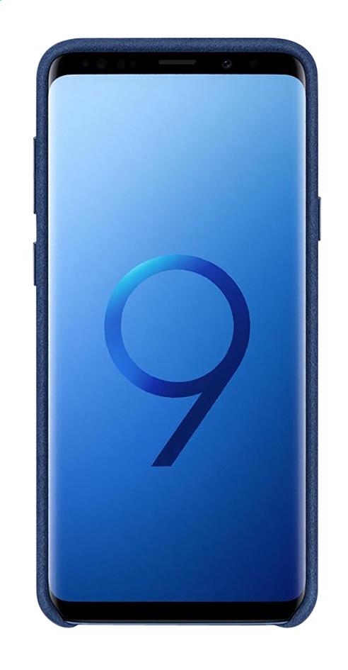 Afbeelding van Samsung cover Alcantara Galaxy S9+ blauw from ColliShop