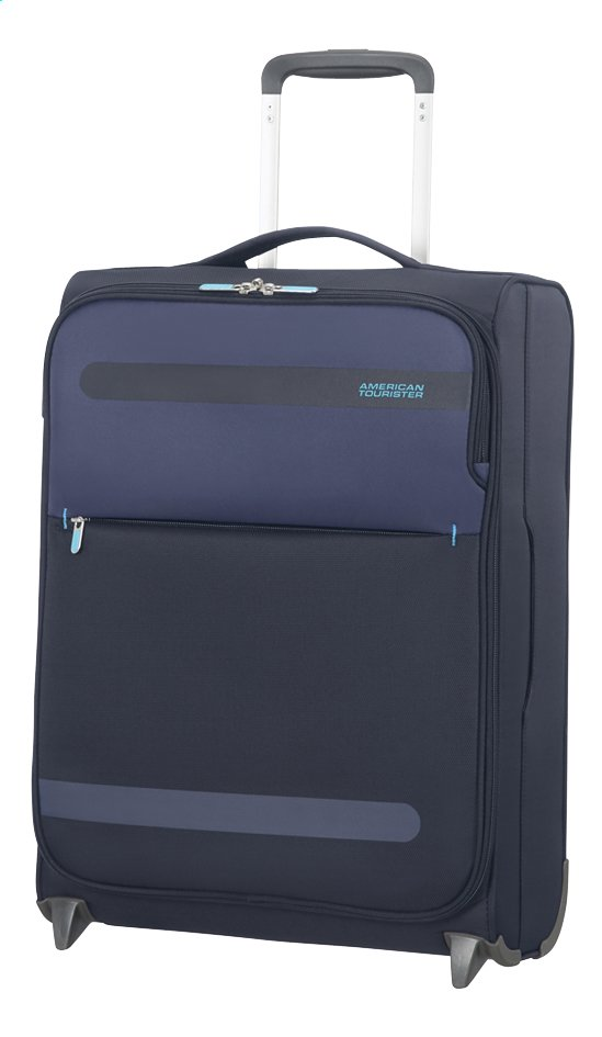 Image pour American Tourister Valise souple Herolite Super Light Upright midnight blue 55 cm à partir de ColliShop