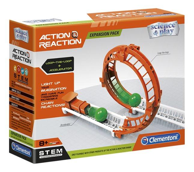 Clementoni Wetenschap & Spel Actie & Reactie Uitibreiding Looping & Starter