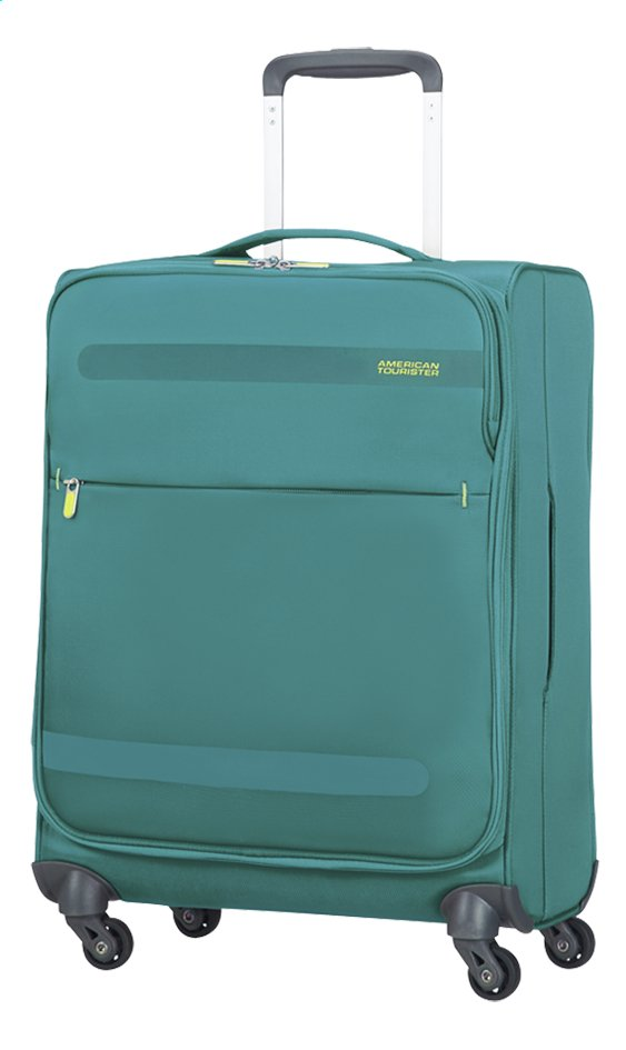 Image pour American Tourister Valise souple Herolite Super Light Spinner cactus green 55 cm à partir de ColliShop