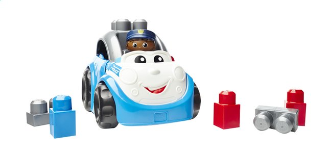 Afbeelding van Mega Bloks First Builders Peter police car from ColliShop