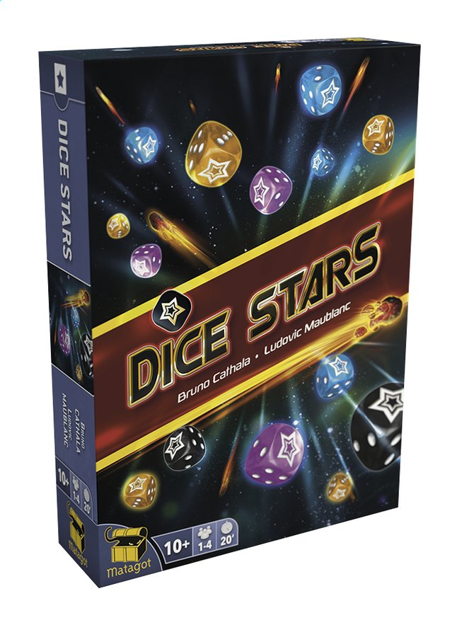 Afbeelding van Dice Stars from ColliShop