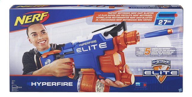 Afbeelding van Nerf blaster Elite N-Strike Hyperfire from ColliShop