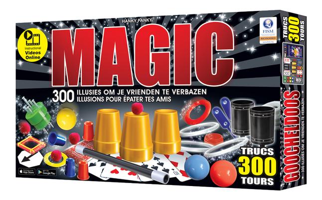 Boîte de magie Magic 300 illusions pour épater tes amis
