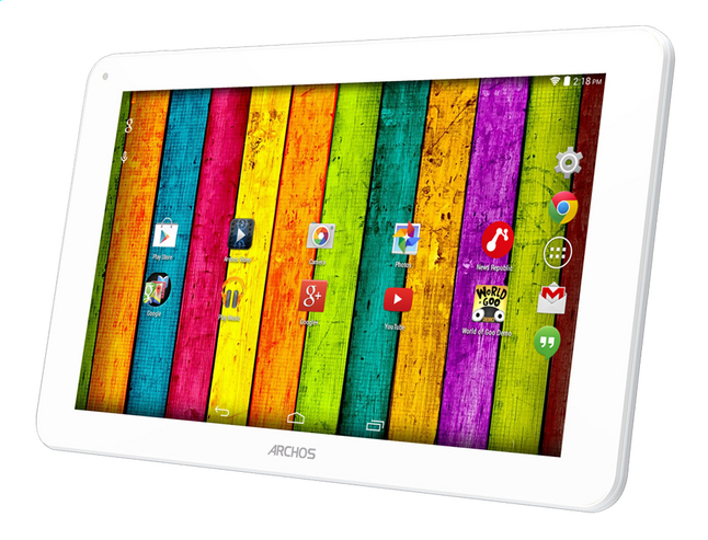 Afbeelding van Archos tablet 101E Neon 10.1 inch 8 GB grijs/wit from ColliShop