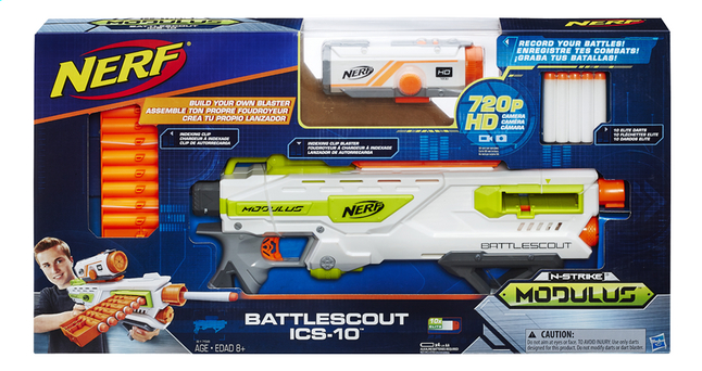 Afbeelding van Nerf blaster Modulus N-Strike Battlescout ICS-10 from ColliShop