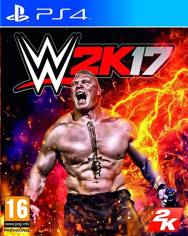 Afbeelding van PS4 WWE 2K17 ENG/FR from ColliShop