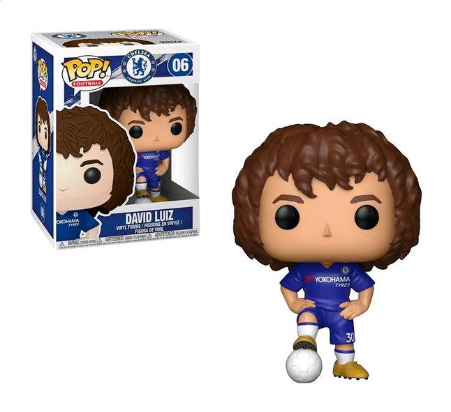Afbeelding van Funko Pop! figuur Chelsea David Luiz from ColliShop