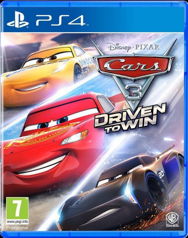 Afbeelding van PS4 Cars 3: Driven to Win NL/FR from ColliShop