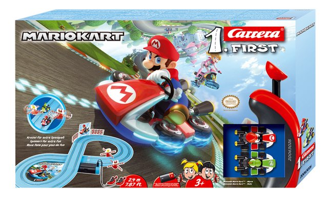 Carrera First racebaan Mario Kart
