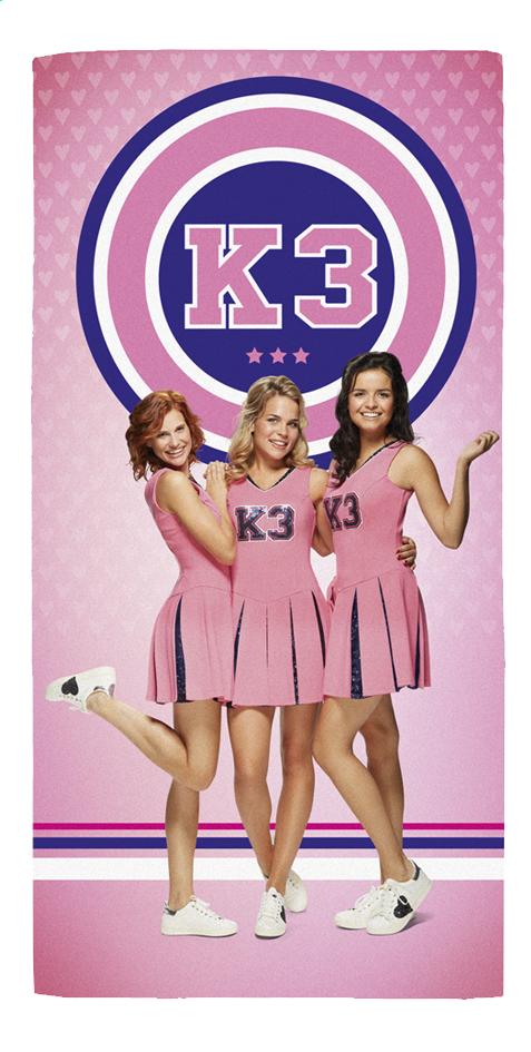 Image pour Studio 100 drap de plage K3 Cheerleaders 75 x 150 cm à partir de ColliShop