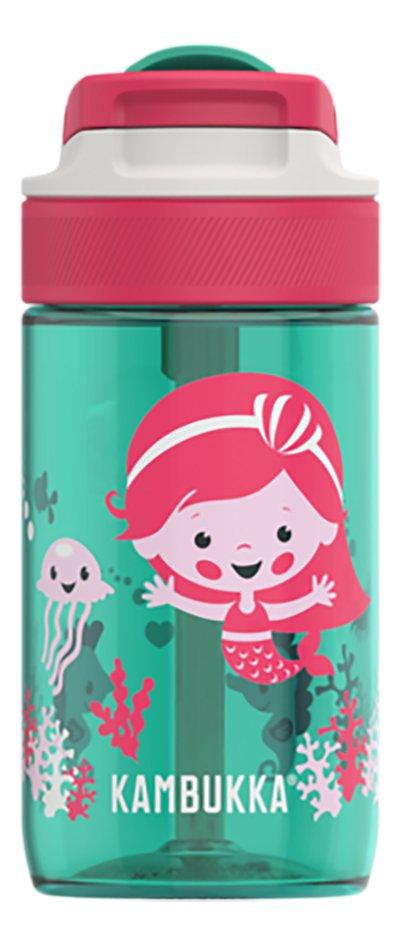 Kambukka Drinkfles Lagoon Ocean Mermaid groen/roze 40 cl