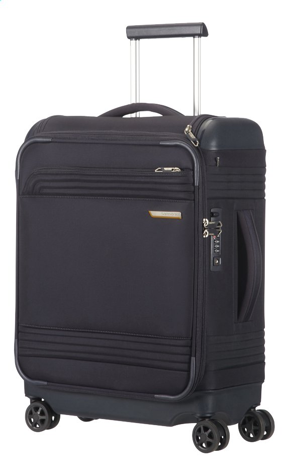 Image pour Samsonite Valise souple Smarttop Spinner midnight blue 55 cm à partir de ColliShop