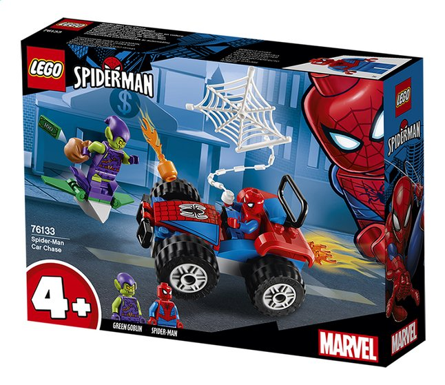 Afbeelding van LEGO Spider-Man 76133 Spider-Man auto achtervolging from ColliShop
