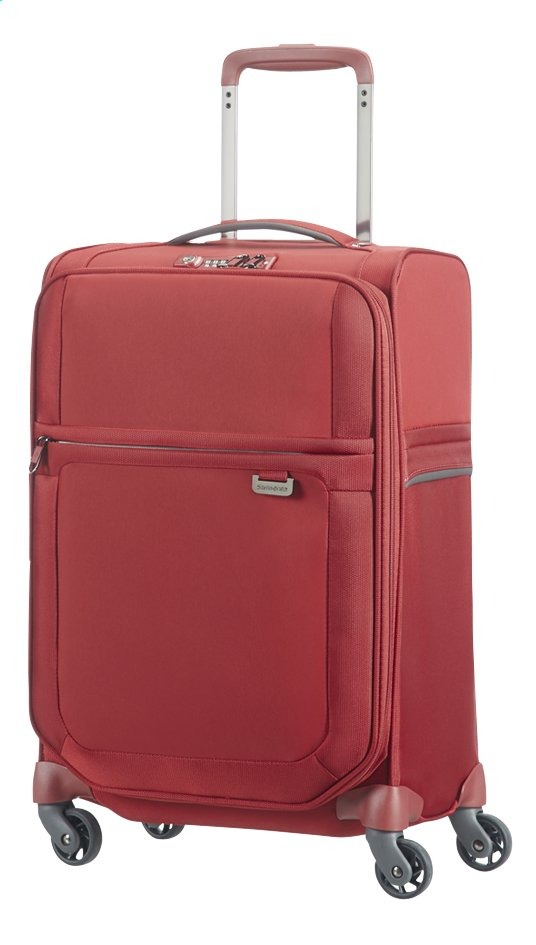 Image pour Samsonite Valise souple Uplite EXP Spinner red 55 cm à partir de ColliShop